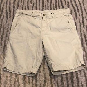 Boys johnnie-O flat front khaki shorts